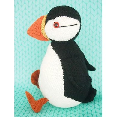 Jamie The Shetland Puffin Knitting Pattern By Browneyedbabs