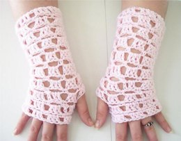 Square Lace Gloves