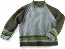 Wyatt Pullover in Knit One Crochet Too 2nd Time Cotton - 1668 - Downloadable PDF