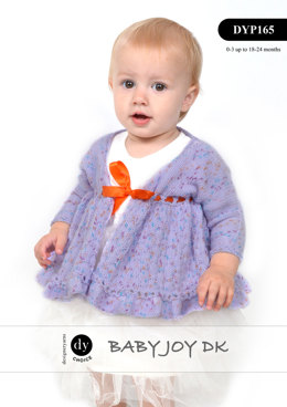 Jacket & Shoes in DY Choice Baby Joy DK Print - DYP165