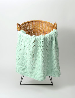 Vines Blankie in Universal Yarn Bella Chenille