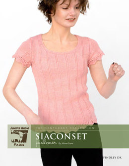 Siaconset Pullover in Juniper Moon Findley DK - Downloadable PDF