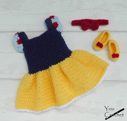 Snow White Dress Set
