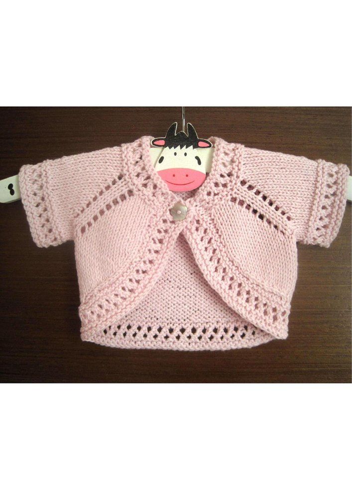 Harriet Bolero Knitting pattern by Suzie Sparkles