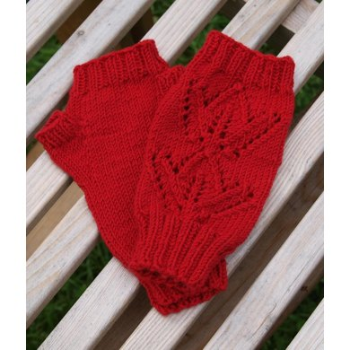 Maple Leaves Mitts