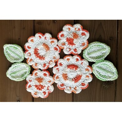 Spring Flower Potholder #1