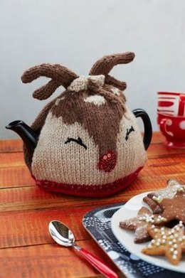 Ruby Reindeer Tea Cosy