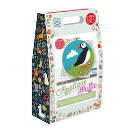 The Crafty Kit Company Scottish Puffin Felt Applique Kit - 15cm