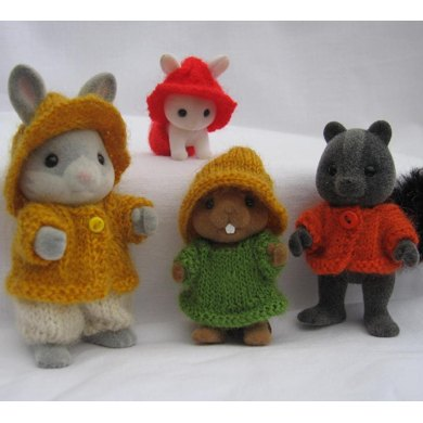 Rustic outfits for Sylvanian Families & Calico Critters
