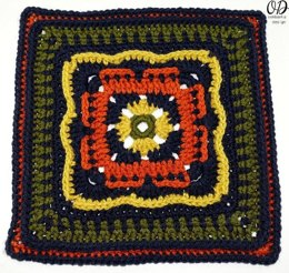 Persephone's Garden At Night Afghan Square