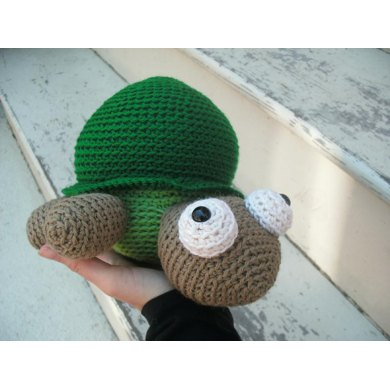 Amigurumi Tino the Turtle