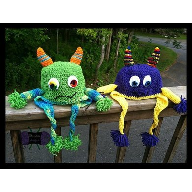Monster Love Earflap Hat