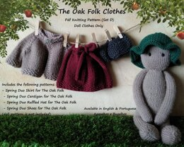 Clothes for The Oak Folk Set D