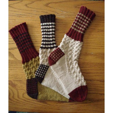 Snap Up North Boot Socks Knitting Pattern By Phyll Lagerman