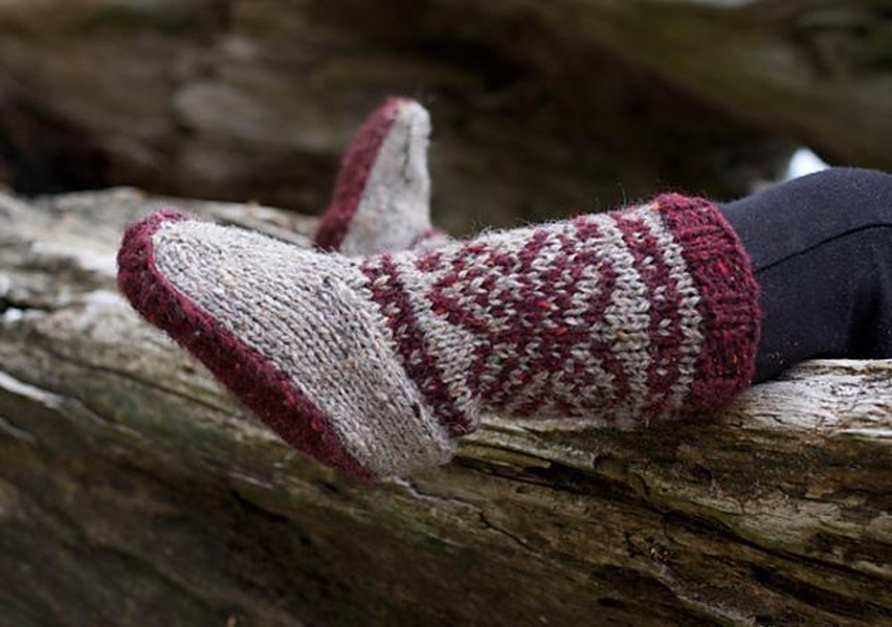 Mukluks Knitting Pattern By Tin Can Knits Knitting Patterns