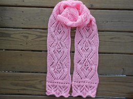 Valentines In Lace Scarf