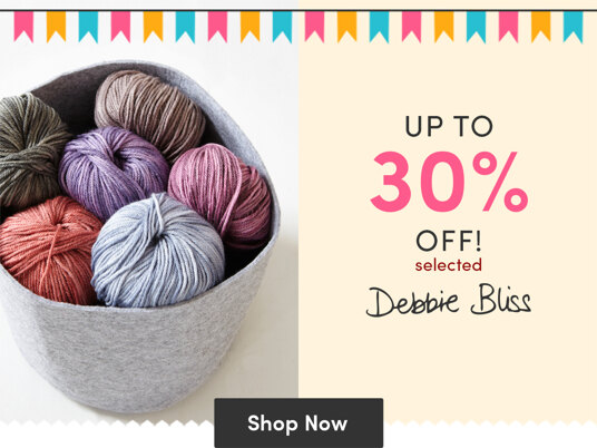 Up to 30 percent off selected Debbie Bliss