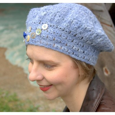 Bessies Beret Crochet Pattern By Denise Voie De Vie