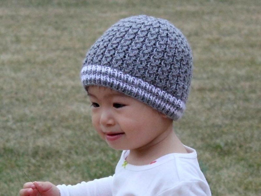 Mock Cables Baby Hat Knitting pattern by Christy Hills  f5d950e34c3