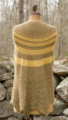 Half Pi Shawl in Classic Elite Yarns Palace - Downloadable PDF