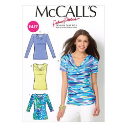 McCall's Misses' Tops M6963 - Sewing Pattern