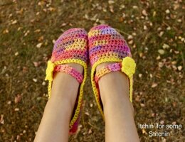 Easy Beginner Slippers