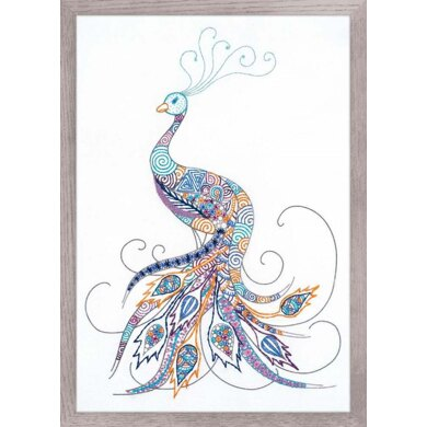 Riolis Bird of Luck Embroidery Kit