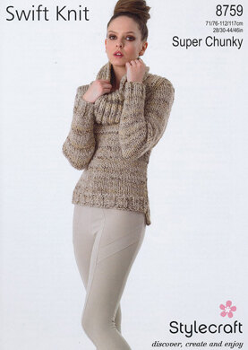 Sweater in Stylecraft Swift Knit Super Chunky - 8759