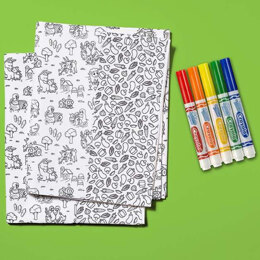 Riley Blake Crayola Color Me Pillowcase Kit