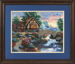 Dimensions Twilight Bridge Cross Stitch Kit