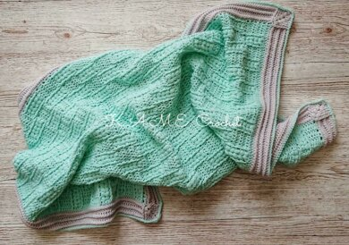 Puffs and Hugs Baby Blanket