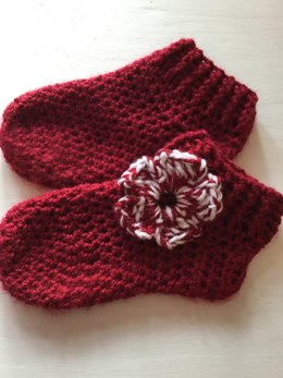 Crochet Adult Chunky Slipper Socks