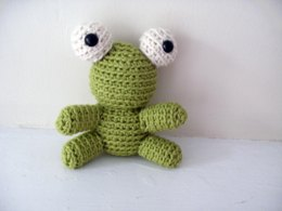 Amigurumi Gary the Tiny Frog