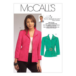 McCall's Misses' Jackets M5668 - Paper Pattern Size All Sizes In One Envelope