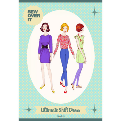 Sew Over It Ultimate Shift Dress - Sewing Pattern
