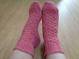 Oft cable socks