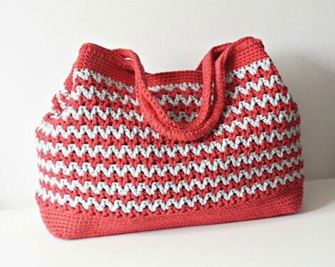 Seamless Crochet Summer Bag