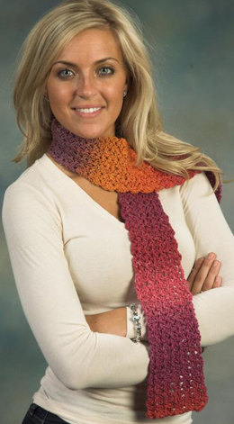 Scarf D in Plymouth Kudo - F396