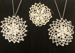 Antique Snowflake Ornament