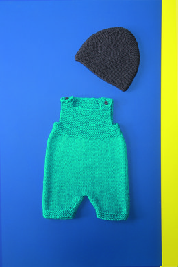 Baby Romper Shorts and Hat in Bergere de France Ideal - 72680-06 - Downloadable PDF