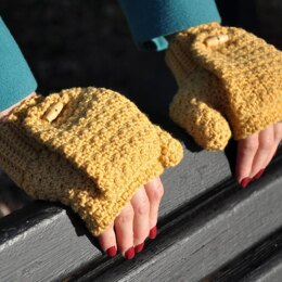 Warm Mustard Mitts