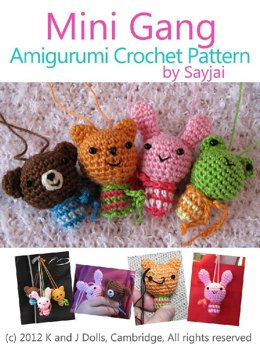 Mini Gang Amigurumi Crochet Pattern