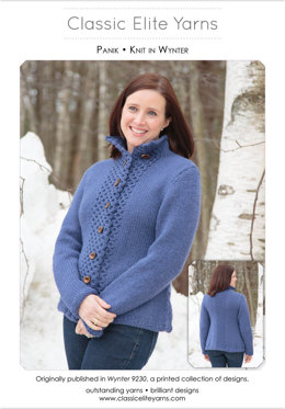 Panik Cardigan in Classic Elite Yarns Wynter - Downloadable PDF