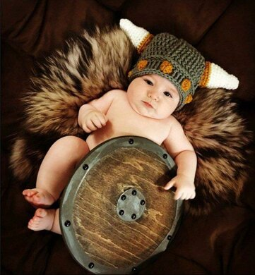 Baby Viking Hat Thor Hat Crochet Pattern By Ava Girl Designs