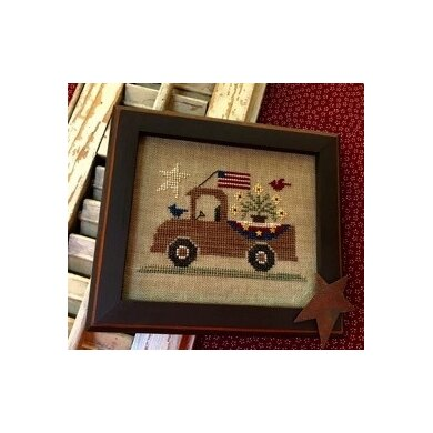 Homespun Elegance An All American Truck - Country Spirits Collection - HECS112 - Leaflet