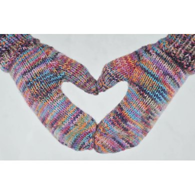 Shall We Mitts - Worsted
