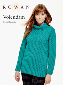 Volendam Sweater in Rowan Pure Wool Worsted