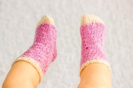Magic Spiral Socks