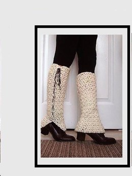 645 LACED UP LEGWARMERS, baby to adult women
