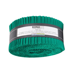 Robert Kaufman Kona Cotton Solids 2.5in Strip Roll - RU-887-40
